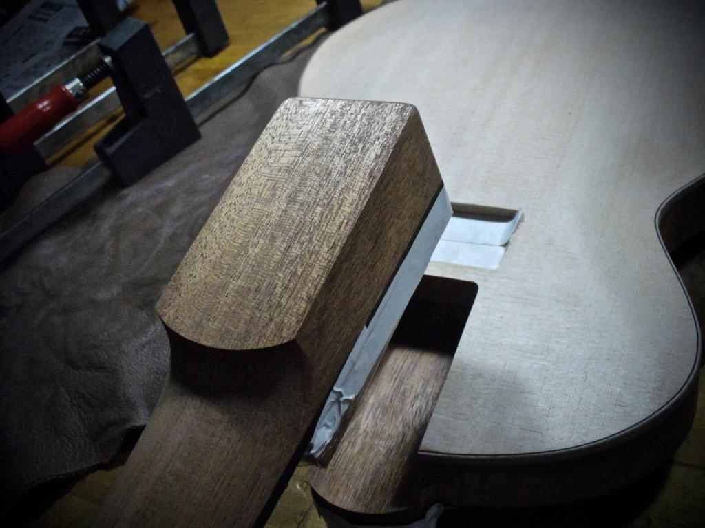 Neck Glueing - 1
